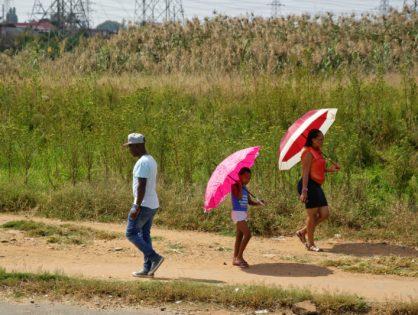 Afrique du Sud - Parapluie