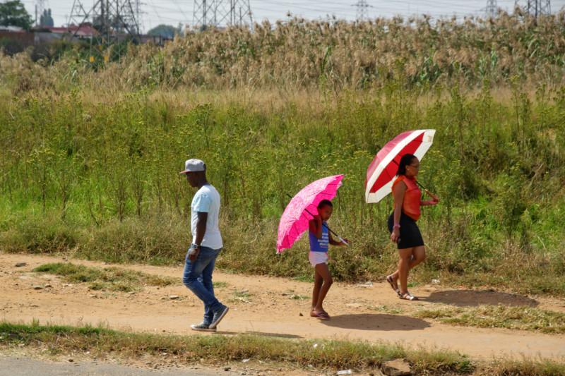 Ombrelle - Afique du Sud